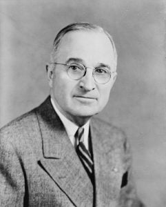 Portrait of Harry Truman 1945