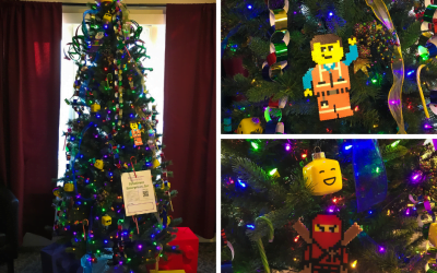 Lego Tree for Morgan's Hometown Festival of Trees