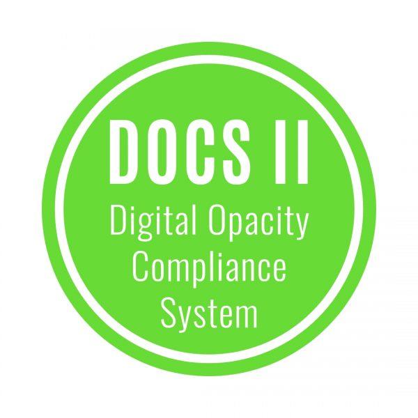 Digital Opacity Compliance System (DOCS II)
