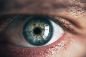 Iris of an eye can be used in cybersecurity