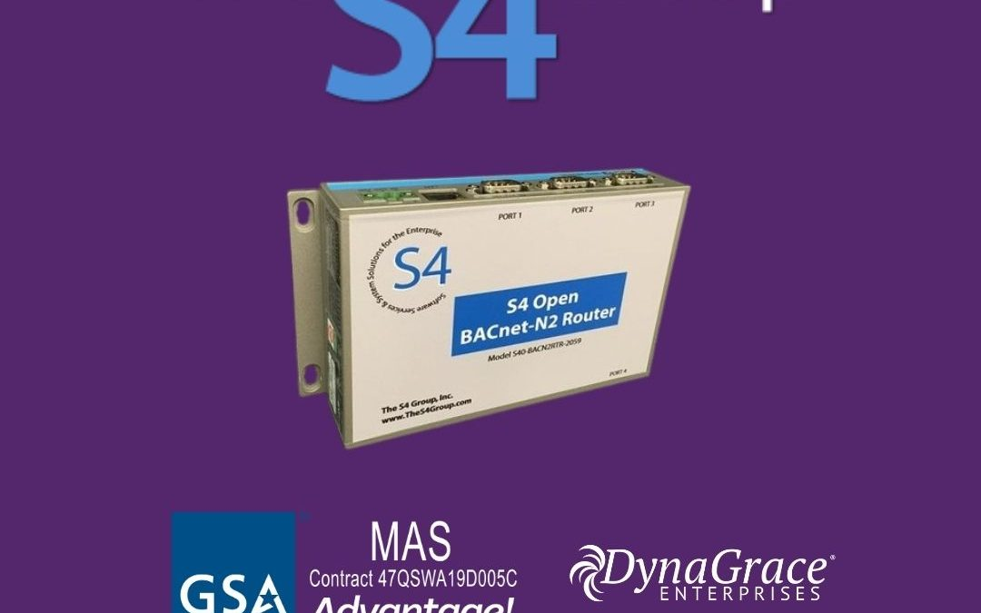 DynaGrace Adds The S4 Group Automation Products to the GSA MAS Contract