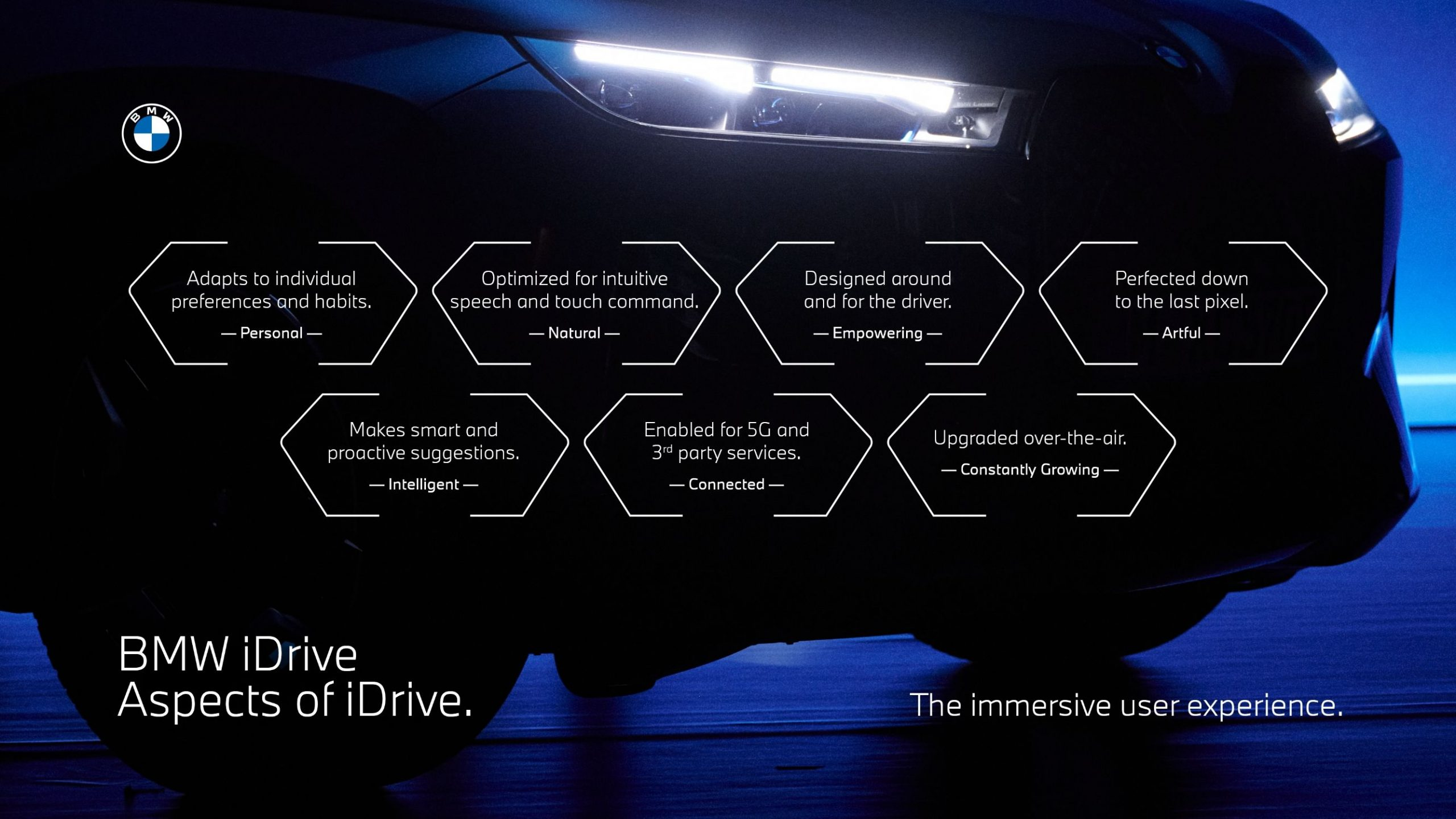 BMW idrive display